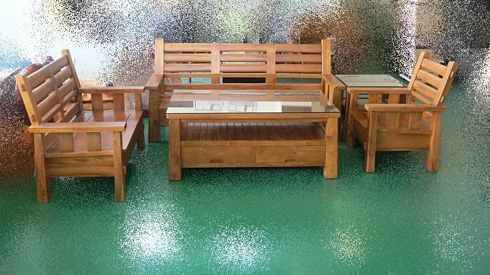 二手家具 台中連冠中古傢俱館❋TK4001*豪邁掀蓋全新日式柚木組椅❋布沙發 皮沙發 二手家具 中古電器 台北桃園新竹