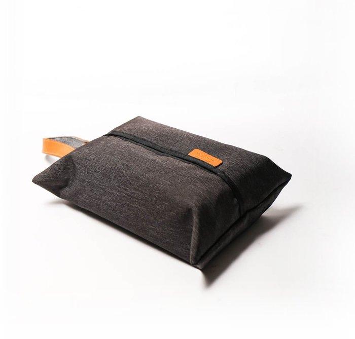 點子包【icleaXbag】 真皮面紙收納套 車用面紙套 面紙盒 牛皮 禮品  DG35