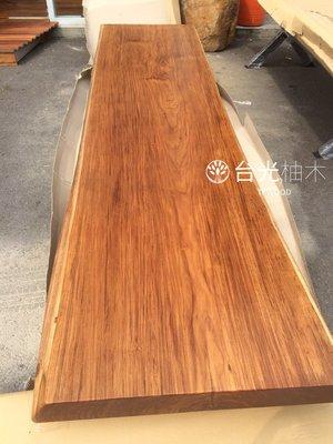 【緬甸柚木-TKWOOD】TSS2 柚木書桌・原木桌板・柚木吧檯/餐桌・柚木地板・柚木拼板、家具、樓梯板