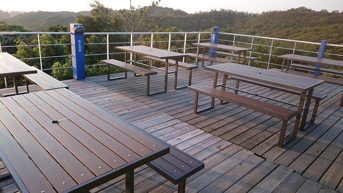 塑木5尺野餐啤酒桌(寬150CM)休閒桌椅,營業啤酒屋適用4-6人~啤酒桌[兄弟牌戶外休閒傢俱]