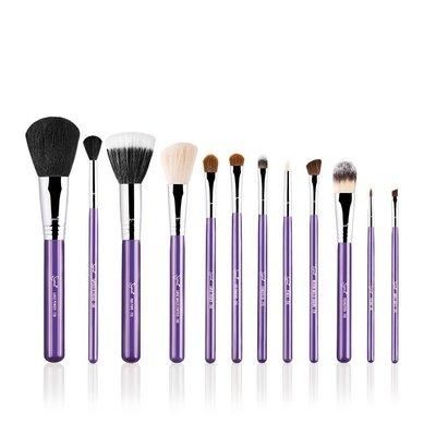 【愛來客】☆美國Sigma官方授權經銷商☆ ESSENTIAL KIT - MAKE ME 12件化妝刷組+刷筒