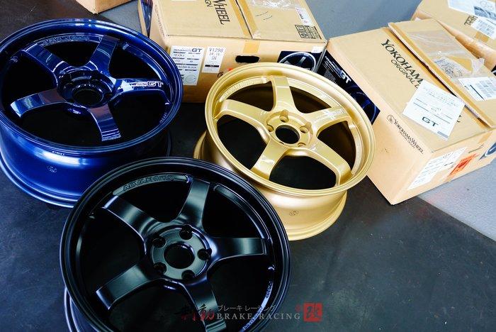 ㊣ ADVAN Racing GT 經典式樣 輕量化鋁圈 5孔114.3 特殊藍、特殊金、消光黑 歡迎詢問 / 制動改