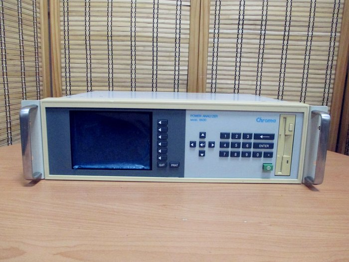 康榮科技二手儀器領導廠商Chroma 6630+Module*1 Power Analyzer 功率分析儀