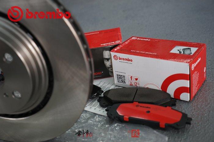 義大利 BREMBO OE原裝 LEXUS RX270/RX350/RX450 運動版來令片+原廠對換型碟盤 / 制動改