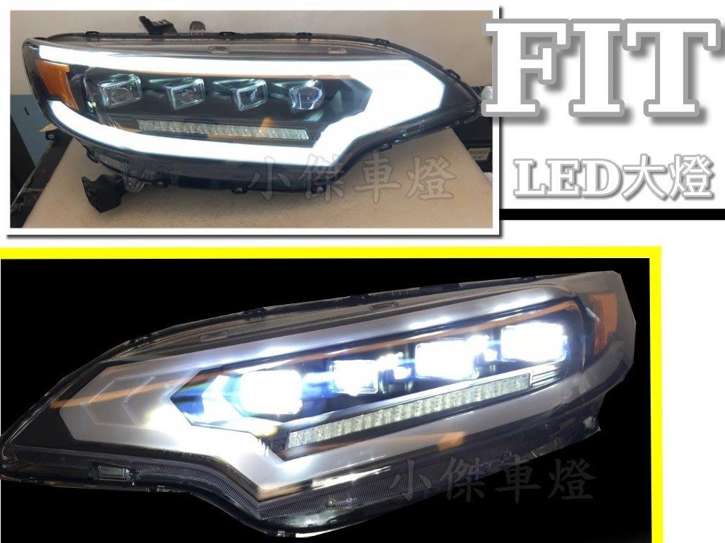 JY MOTOR 車身套件 - HONDA FIT 3 15 16 2015 2016 年 全LED 大燈 頭燈 日行燈