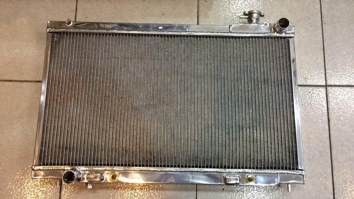 ☆光速改裝精品☆INFINITI G35 3.5L V6 2003-2007  鋁製水箱 全鋁水箱
