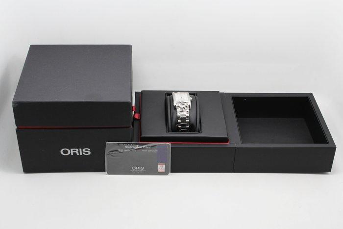 【高雄青蘋果】ORIS Rectangular 藝術時尚機械女錶-銀 0156176924061-07818#11010