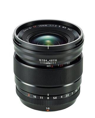 【高雄四海】Fujifilm 富士 FUJINON XF 16mm F1.4 R WR 全新平輸.一年保固.廣角大光圈