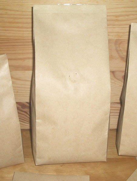 新_NB101_高級平面淡色牛皮紙_空白咖啡豆包裝袋_壹磅用_含進口單向排氣閥 (100入)CandyMan.