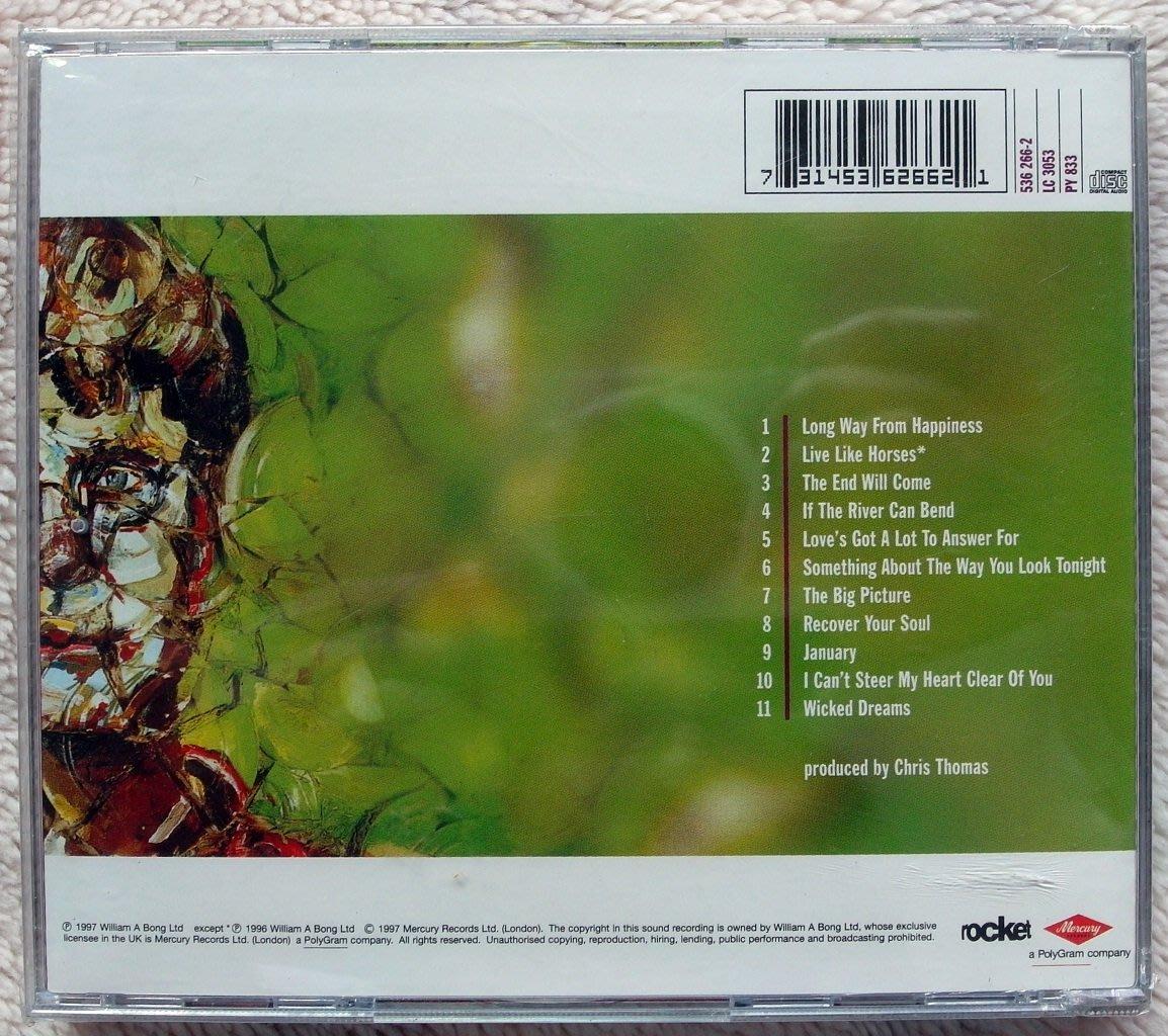 ◎1997全新CD未拆!艾爾頓強-Elton John-大未來專輯/The Bigger Picture-等11首好歌-