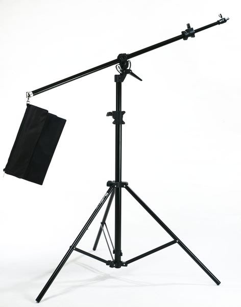 呈現攝影-Phottix H-395 專業橫桿燈架 高395cm 2用燈腳架 可變橫桿/頂燈架 吊臂架 K架離機閃