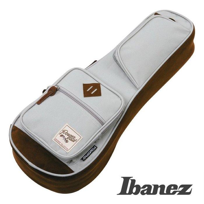 《小山烏克麗麗》Ibanez POWERPAD 原廠 21吋 烏克麗麗袋 琴袋 15mm厚 單背帶 灰 IUBS541