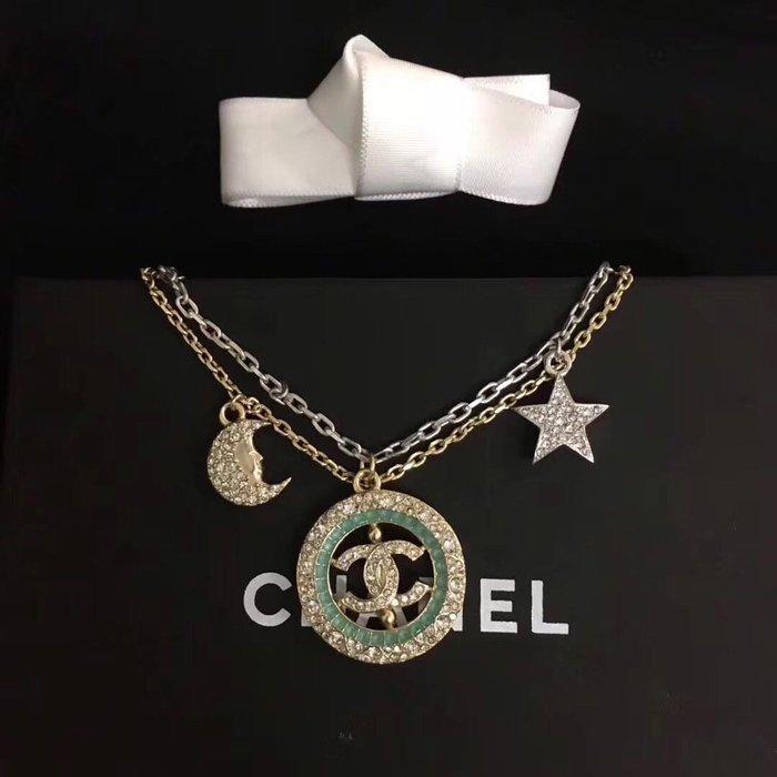 香奈兒Chanel 星星水鑽手鍊