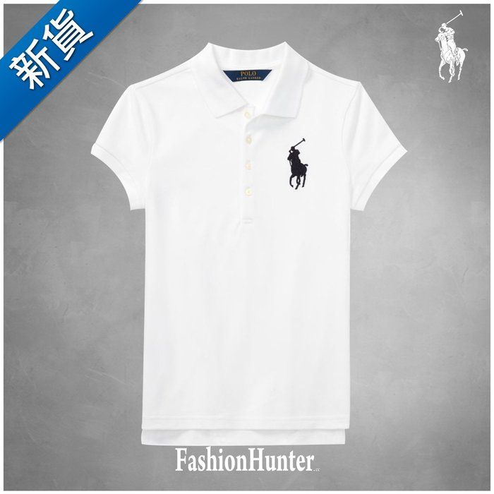 新貨【FH.cc】Ralph Lauren Big Pony Stretch Mesh Polo衫 刺繡大馬 彈性