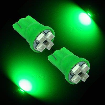 【PA LED】T10 4晶 3528...