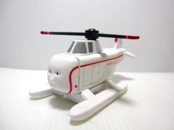 愛卡的玩具屋㊣ 正版 THOMAS 湯瑪士和他的朋友@ 磁性 原木小火車頭 @飛機 哈洛得