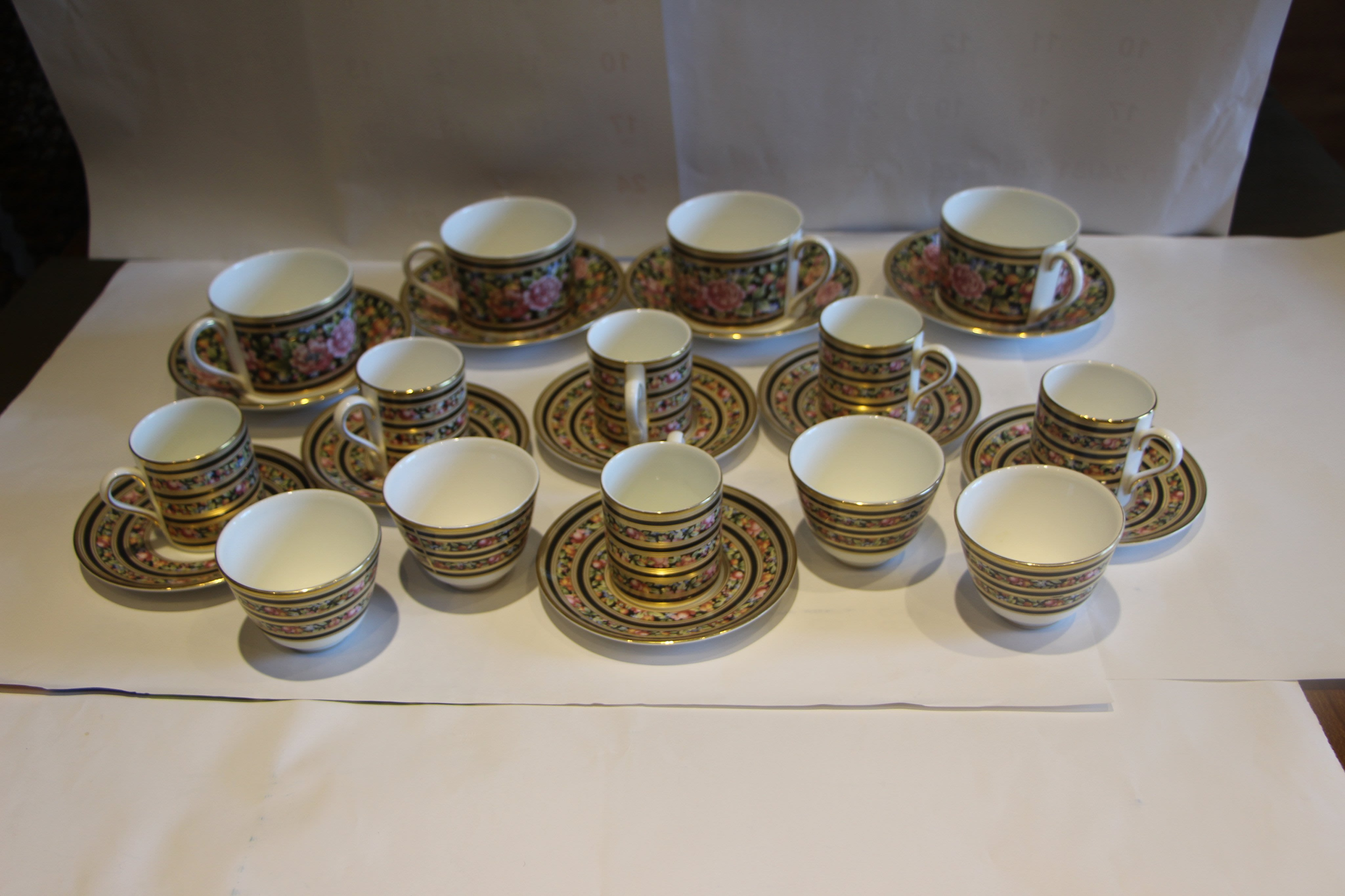 英國WEDGWOOD威基武德(骨瓷)-咖啡杯 濃縮咖啡杯 中式茶杯組合