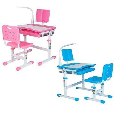國城-兒童家教學習書桌(粉色/藍色)