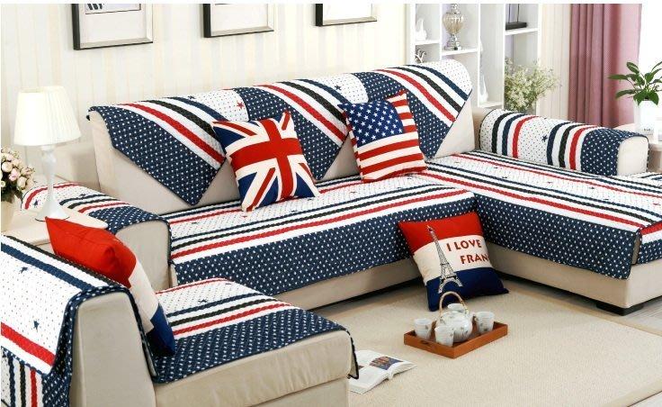 客訂沙發墊【RS Home】[70x70cm三件+90x180cm兩件] 沙發墊 [英倫風]