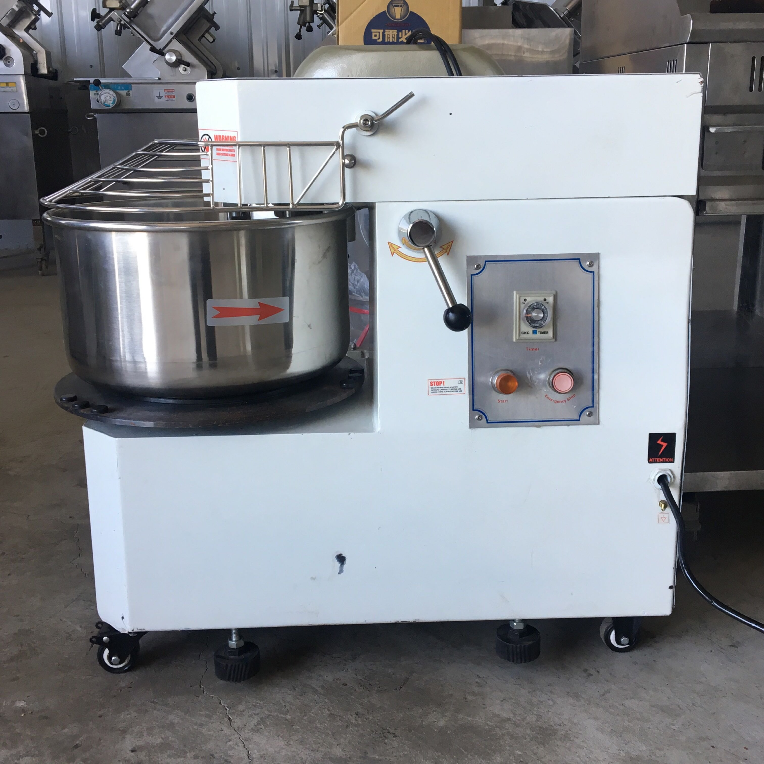 螺旋式攪拌機 攪拌機 20公升 一貫攪拌機