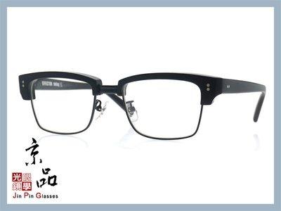 【EFFECTOR】伊菲特 delay III MBK 霧黑色 日本手工眼鏡 JPG 京品眼鏡