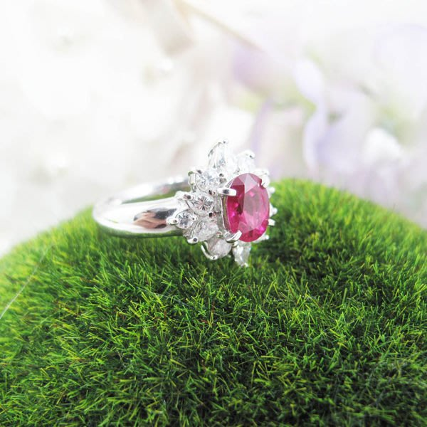【JHT金宏總珠寶/GIA鑽石專賣】天然紅寶鑽戒 (JB22-BR30) *