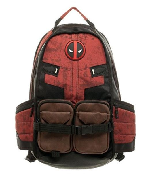 【丹】A_Bioworld Marvel Deadpool Laptop Backpack 漫威 死侍 後背包