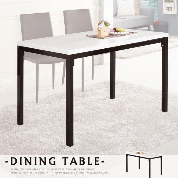 (免運成品到貨) 愛達石面4尺餐桌 桌子 餐桌 會議桌  餐廳【MIT創意居家館】24-471-1