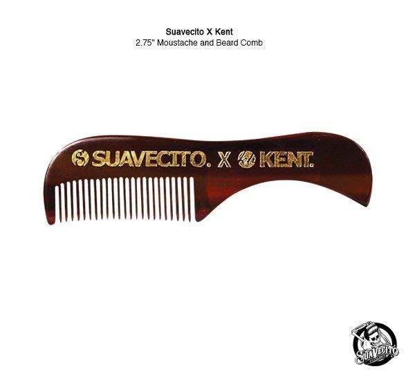 "GOODFORIT / 加州造型品牌Suavecito x Kent Combs聯名鬍鬢專用梳/2.75"""