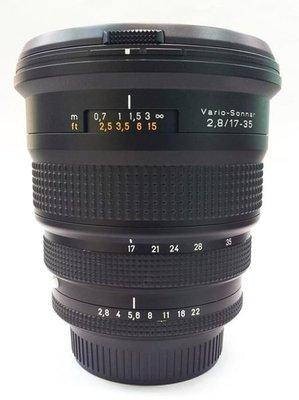 @佳鑫相機@(中古託售品)CONTAX N Carl Zeiss Vario-Sonnar T* 17-35mm F2.8 FOR N1、NX相機