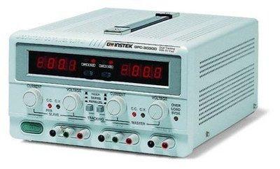 TECPEL 泰菱 》固緯 GWInstek GPC-6030D 375w 直流電源供應器  DC 電源供應 60V 3A