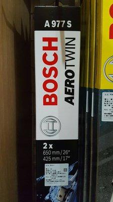 『油夠便宜』Bosch 977s 福特Focus 專用軟骨雨刷[17吋+26吋]..