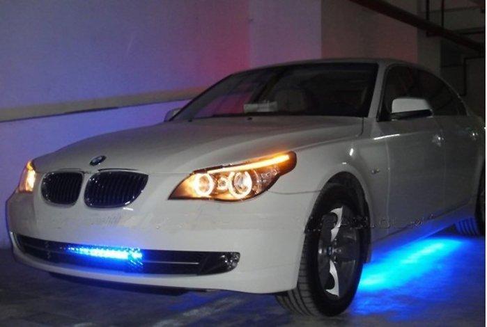 客製化訂製 炫彩霹靂遊俠燈 中網掃描燈 全套配備直接接上汽車正負極即可使用 附遙控器可遙控控制