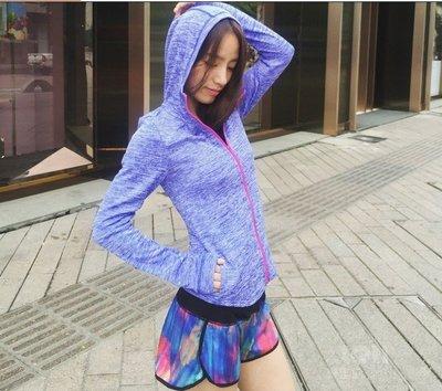 跑步外套 運動外套 瑜伽健身女外套 戶外騎行運動外套 拉鍊立領外套 推薦 哪裡買 台南高雄瑜珈韻律服專賣店C5585