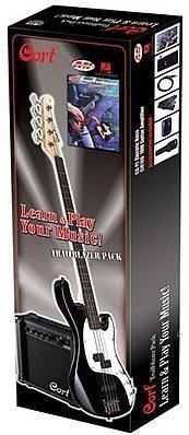 ☆ 唐尼樂器︵☆ Cort CBP-BJ 超值套裝電貝斯組合包 內含 音箱 調音器 導線 教學 CD