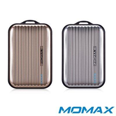 【聖誕節交換禮物】MOMAX 8400mAh iPower Go Mini 行李箱造型行動電源 (金/銀)
