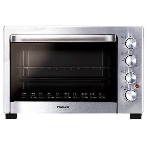 Panasonic 國際牌 38L 大容量 發酵 烘焙 烤箱 防燙把手 雙層隔熱玻璃 NB