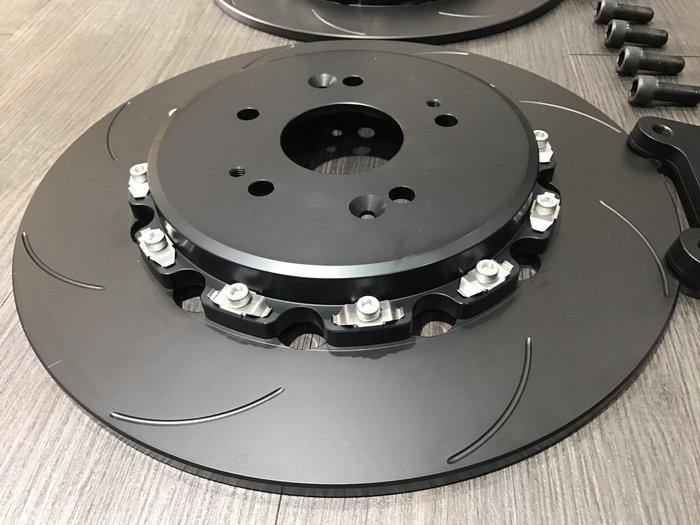 ☆光速改裝精品☆HONDA HRV  雙片式後加大碟 2片式 半浮動 350mm