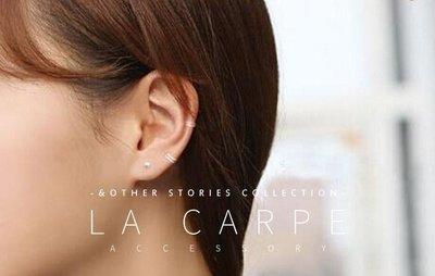 耳骨圈耳環 耳圈 [999純銀] 極簡 圈圈耳環 La CARPE 飾物【COS032】