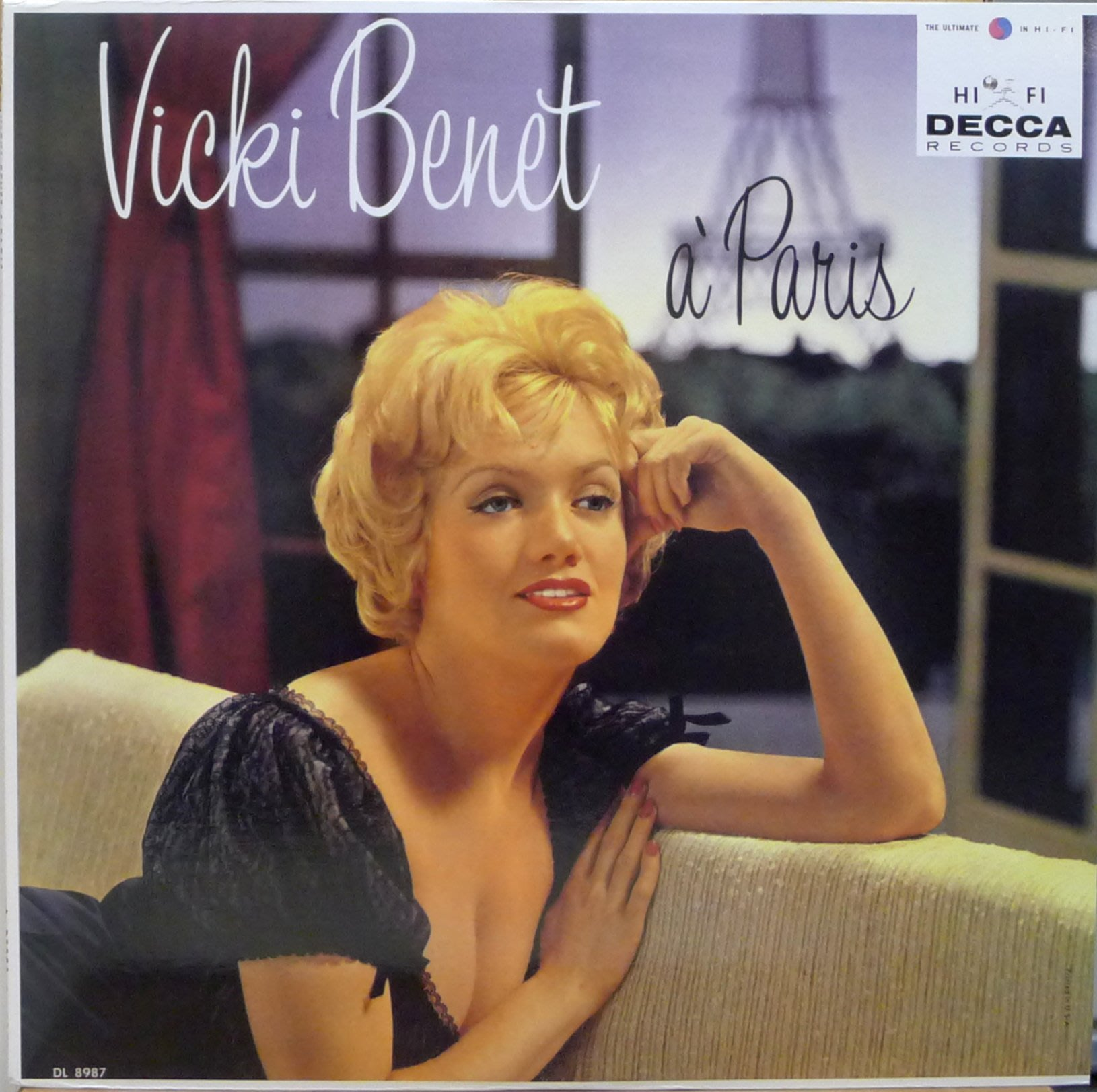§小宋唱片§ 日版/Vicki Benet A Paris/with Orchestra By Nick Perito