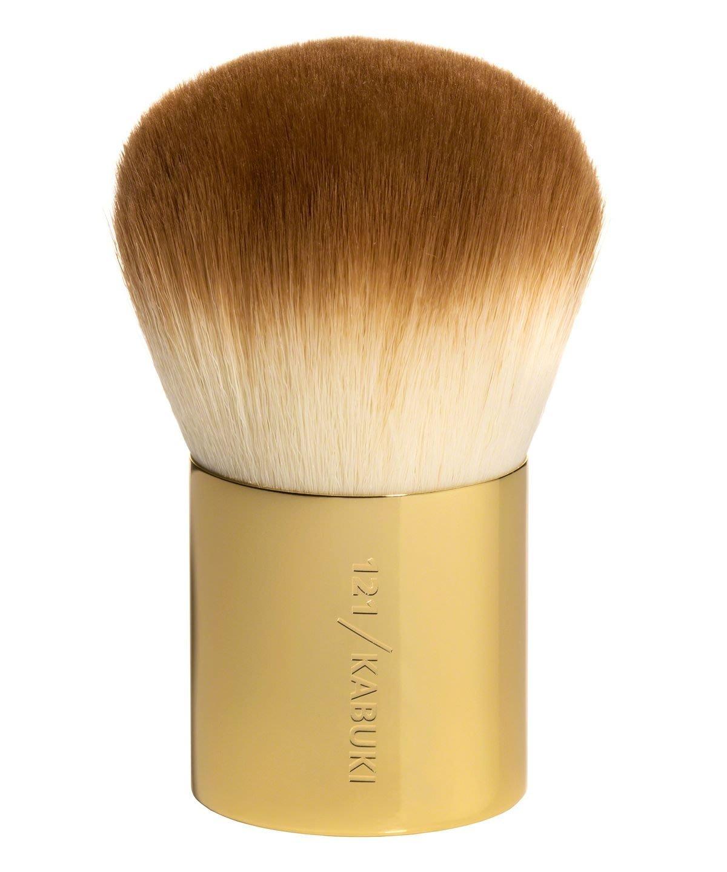 全新轉賣   Zoeva 121 KABUKI Bamb 攜帶方便化妝刷散粉蜜粉礦物粉刷帶全新包裝