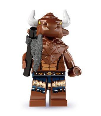 現貨【LEGO 樂高】積木/ Minifigures人偶系列: 6代人偶包抽抽樂 8827 | 牛頭人 Minotaur