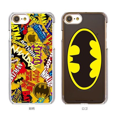 尼德斯Nydus 日本正版 DC 正義聯盟 超級英雄 蝙蝠俠 透明 硬殼 手機殼 4.7吋 iPhone7