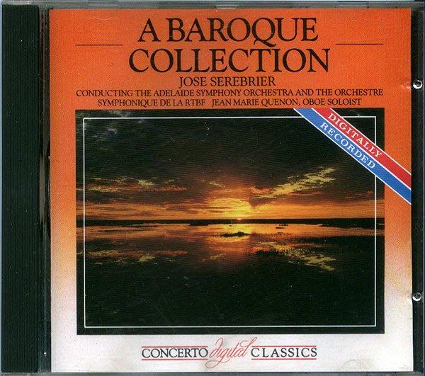 【塵封音樂盒】席瑞布瑞爾 Jose Serebrier - A Baroque Collection