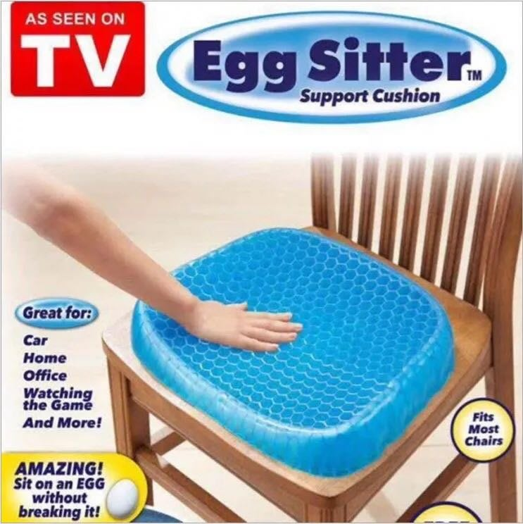 歐美爆款熱銷 》Egg Sitter 多功能凝膠座墊 蜂巢式減壓  雞蛋坐墊