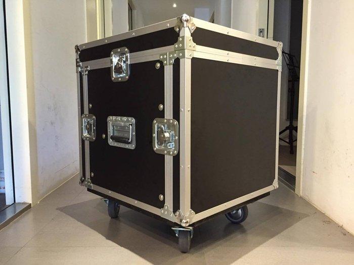 【六絃樂器】全新航空瑞克箱 10U 混音器三開機櫃 / 舞台音響設備 專業PA器材