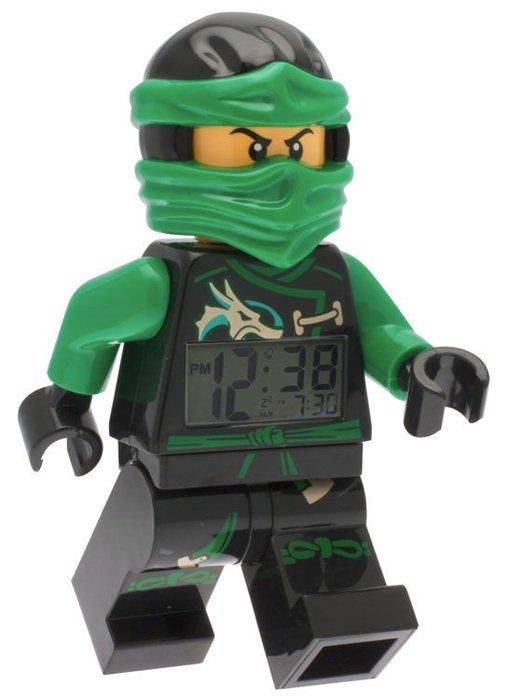 現貨可超取【LEGO 樂高】全新正品/ 綠忍者鬧鐘 Ninjago 旋風忍者 數字時鐘 LLOYD 人偶 公仔 含原廠盒