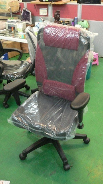 樂居二手家具館 全新專利護腰網布電腦椅 辦公椅 人體工學 洽談椅 會議椅 辦公設備