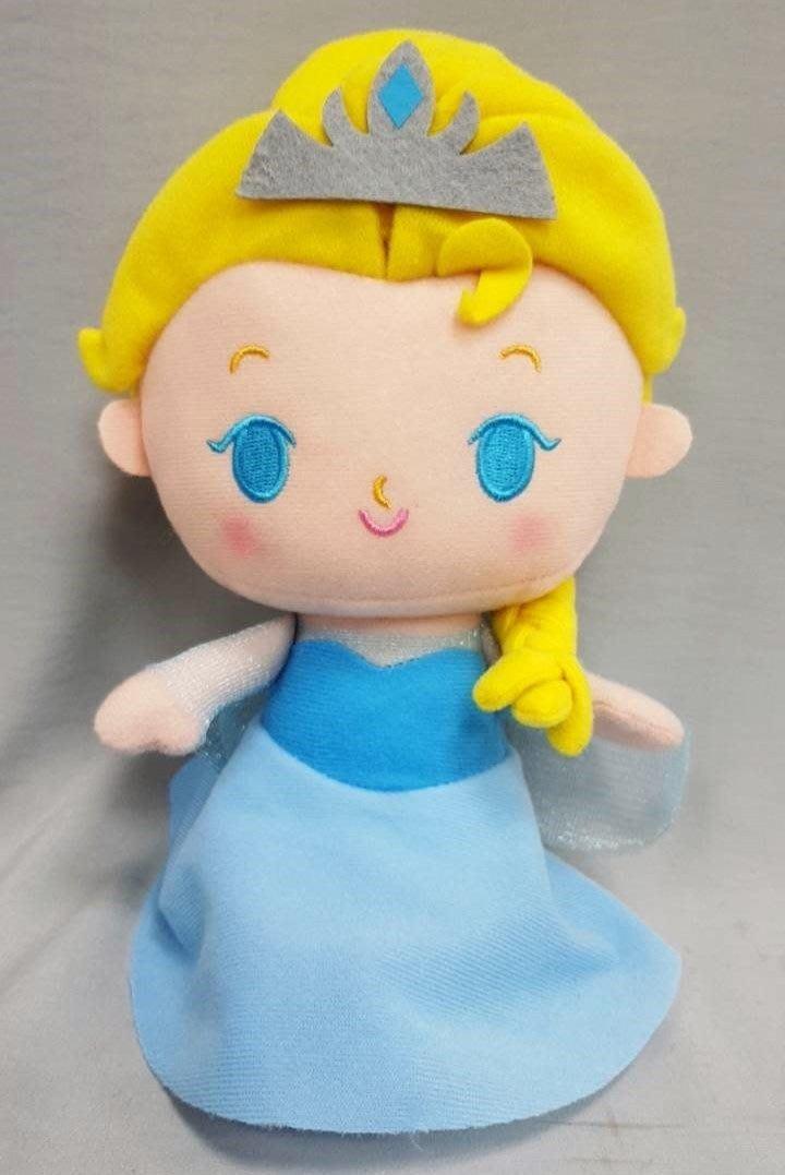 7吋 冰雪奇緣 艾莎公主玩偶 娃娃