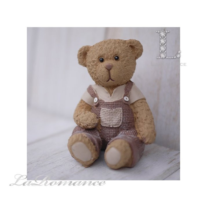 【義大利 Cupido & Company 特惠系列】 咖啡色男生情侶熊 (中) / 泰迪熊 / 童趣動物